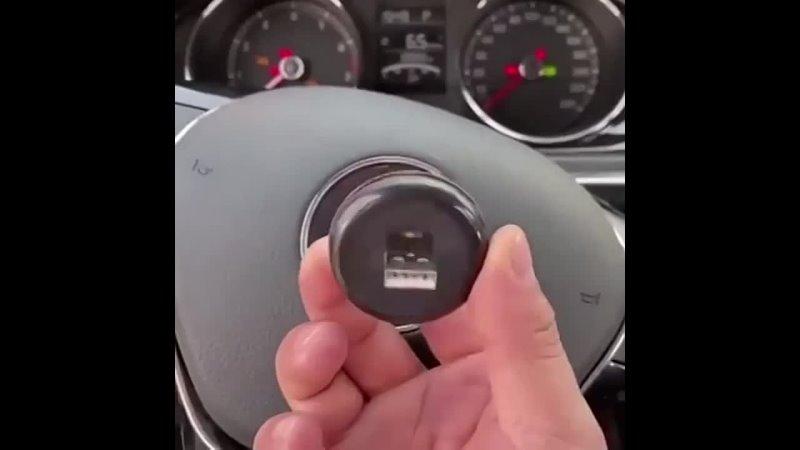 Диско шар для авто, работает от обычного usb