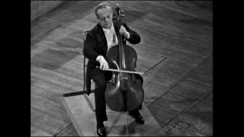 Шуман Р.Ор.129.Концерт для виолончели с оркестром.Андре Наварра.Джон Барбиролли.1962 г.