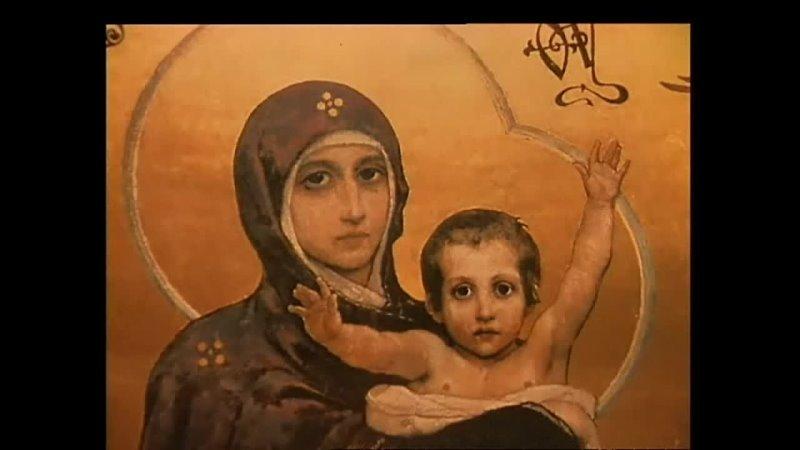 014 Виктор Васнецов Богородица с Младенцем Библейский сюжет
