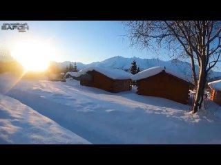 [Оружейный Барон - Top Hunter -] Опасная гонка на снегоходах в  -60. Пневматика на лося. Спасение из ущелья. Ледники Аляски.