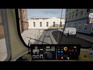 TramSim Pro - Дополнение (Фрагмент из видеоролика Fabian Boulegue)