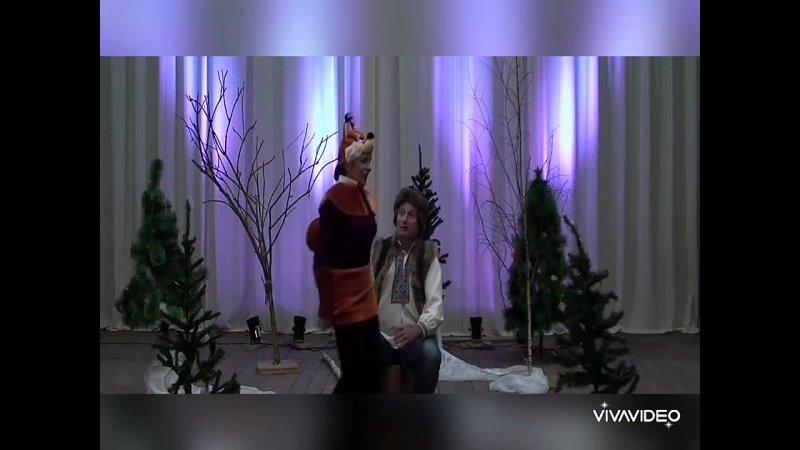 Съёмки Новогодней сказки mp4