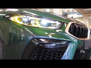 INSIDE THE BMW M8 First Edition