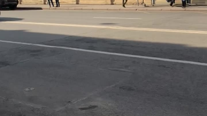 На Рижском проспекте ( дом 30) столкнулись 4 машины. Проезд затруднён