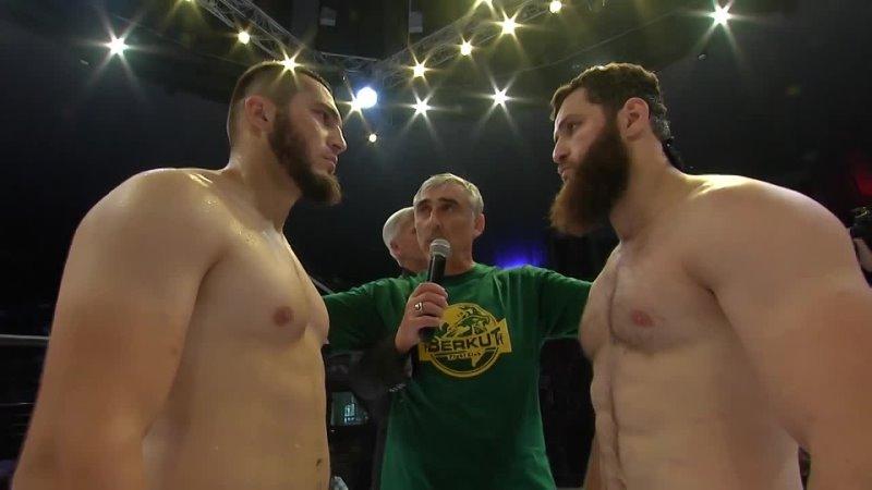 ACA MMA Нажмудди Исламов vs Чингиз Бибулатов Nazhmuddi Islamov vs Chingiz Bibulatov BFC