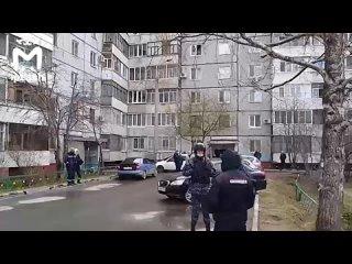 В Казани на Адоратского, 32 эвакуируют дом из-за гранаты в подъезде