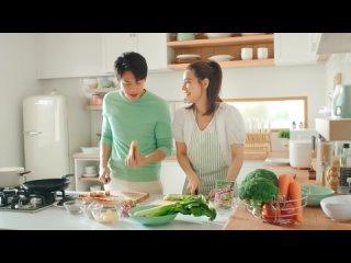 Ким и Марк в рекламе