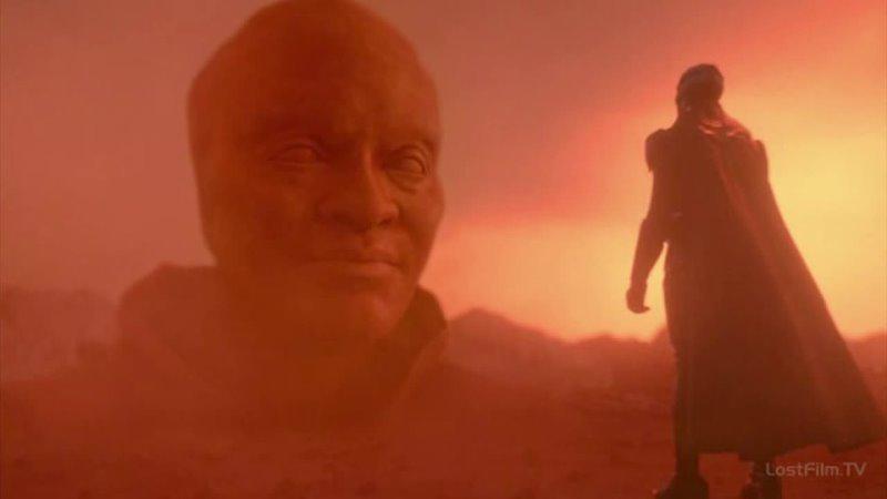 Джонн возвращает Священные Символы в пустыню Тозз