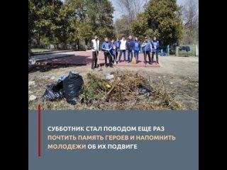 Волонтеры Карачаево-Черкесии привели в порядок воинские захоронения на Старом кладбище столицы республики