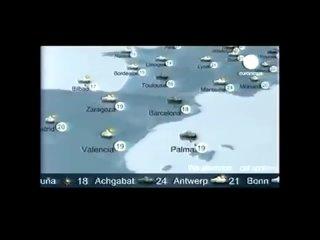 Без комментариев и прогноз погоды (Euronews, )
