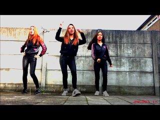 Masterboy  - Feel The Fire (Club Remix)_boom_Shuffle Dance_boom_EuroDance Music_boom_Красивые девушки танцуют_boom_ ( 720 X 1280