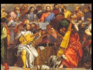 110. Паоло Веронезе. Пир в доме Левия (Библейский сюжет)