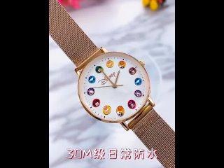 Большая распродажа красивые часы для девочек милые молодежные женские наручные детские со стальным