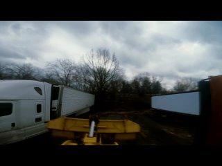 [Phila Truck Town] Пробный выезд на KOMATSU / Порвало гидравлику / Ремонт в полевых условиях