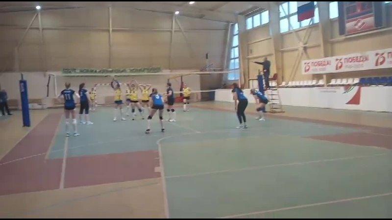 13 02 2021 Чемпионат РМЭ по волейболу среди женских команд РМТ Газовик ПГТУ