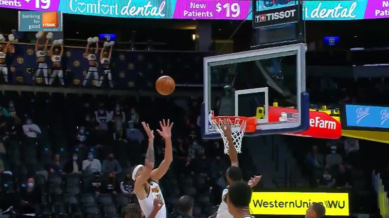 JaVale McGee makes impact on both ends in win vs Spurs