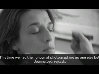 joanna jedrzejczyk - a backstage video of the brodziak gallery photoshoot
