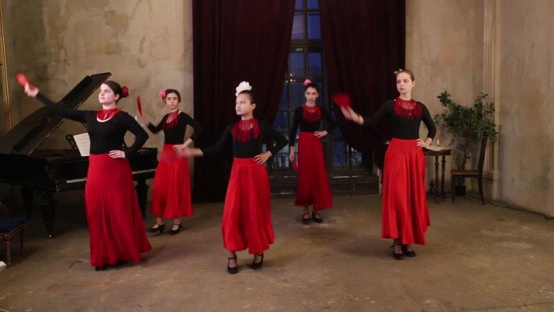 Студия фламенко «La Luna» - «Рассвет», Танец фламенко, музыка David Peña Dorantes – Orobroy