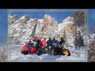 Второй день двухдневного похода Айгир -гора Малиновая  АВТОBUSТУР март 2021
