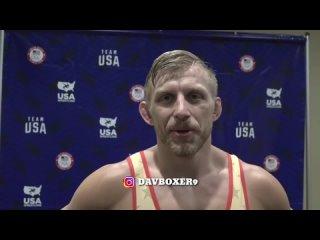 Двукратный чемпион мира Кайл Дейк после победы над Джорданом Барроузом
