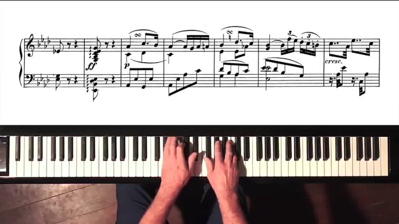 Л. Бетховен. Соната №5, c-moll. Ор. 10 №1. Исп. Пол Бартон