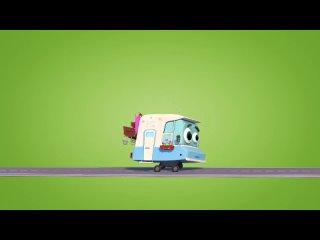 Детские песенки из мультиков -- Домики_ Походная песенка Гриши _ мультики про машинки_ Song for kids(1080P_HD).mp4