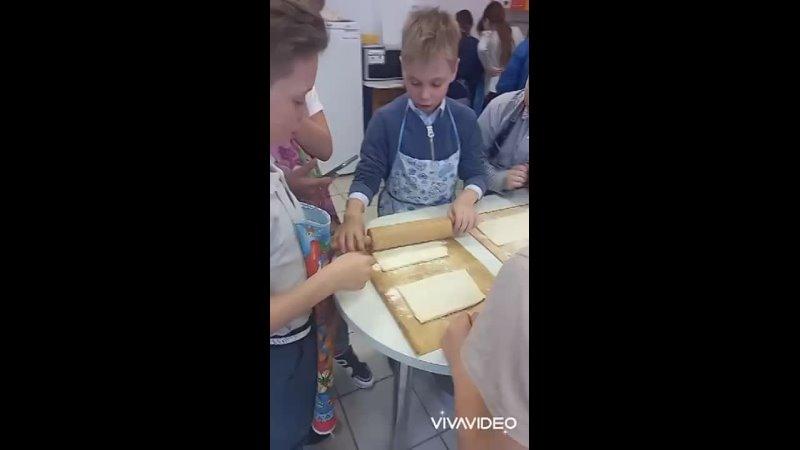 Торт Наполеон 4 класс
