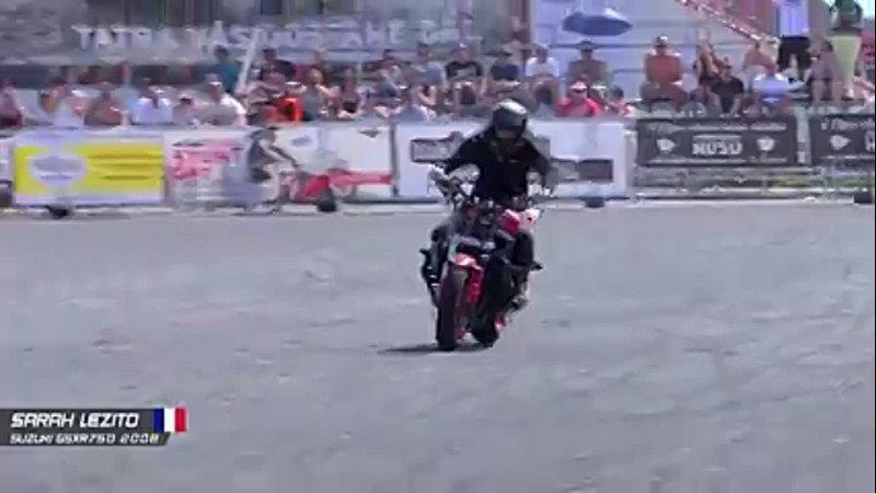 Genius Girl Stunt Rider Sarah