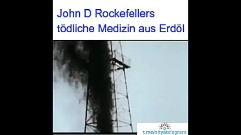 John D. Rockefellers tötliche Medizin aus Erdöl