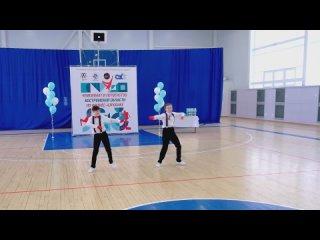 Ершова Дарья, Торопов Савелий. 2 место. Хип-хоп дуэты 7-13 лет.