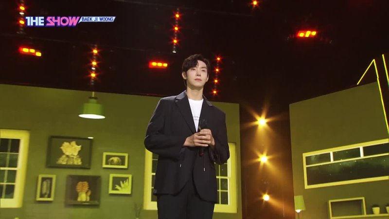 BAEK JI WOONG - Just for today, Only you @ The Show 210413
