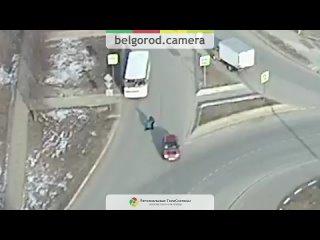 Момент наезда на пешехода на Макаренко