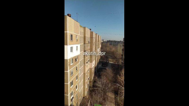 Окраины Донецка под обстрелами украинских боевиков 02 04 2021