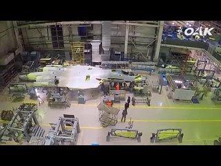 ОАК показал кадры с первым серийным истребителем Су-57