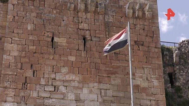 Замок рыцарей Крак-де-Шевалье реставрируют в Сирии