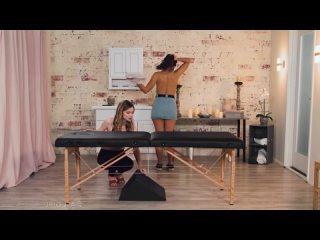 Gia Derza Bunny Colby lesbian massage tits ass pussy oil all sex porn 1080 HD порно лесби субтитры перевод sub секс orgasm cum