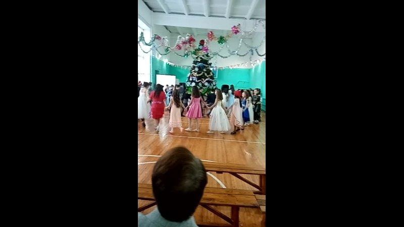 Новый Год в 5 в классе, школа кабаково.