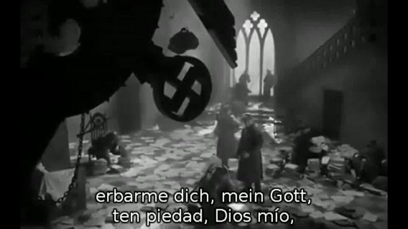 Magdalena Kozena Erbarme dich mein Gott de Bach Berlín 2018 Epílogo del film La Infancia de Ivan Tarkovski 1962