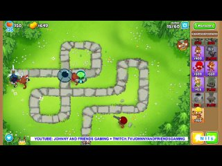 Jetzt live: Bloons Tower Defence 6   Johnny And Friends Gaming