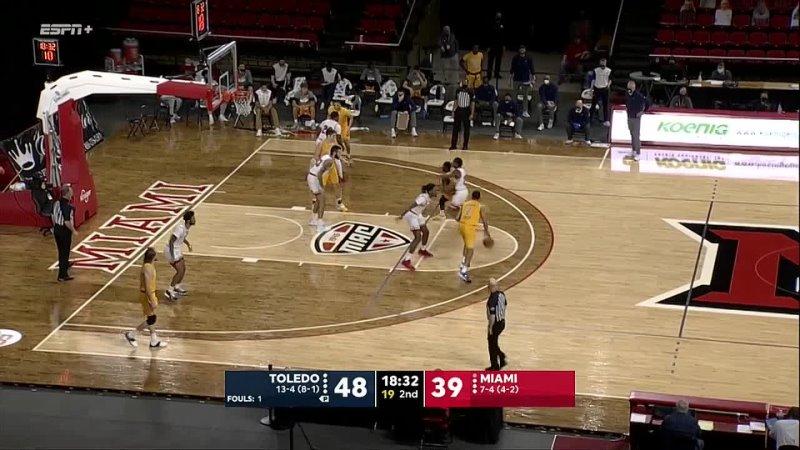 NCAAM 20210126 Toledo vs Miami OH