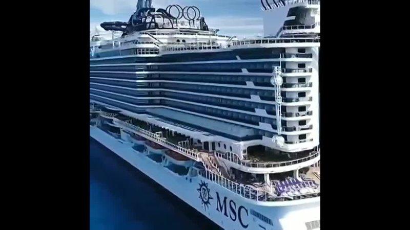 MSC Seaside Судно рассчитано на 5119 гостей и 1413 членов экипажа.