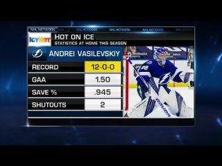 NHL Tonight: Vasilevskiy Apr 1, 2021
