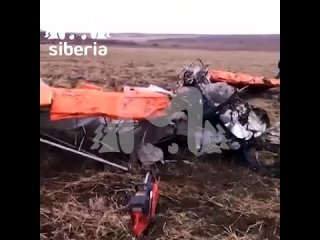 В Иркутской области упал самодельный легкомоторный самолёт