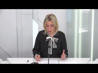 Выступление официального представителя МИД России М.В.Захаровой на 43-й сессии Комитета по информации ГА ООН