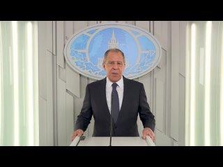 Поздравление Министра иностранных дел Российской Федерации С. В. Лаврова по случаю Дня дипломатического работника