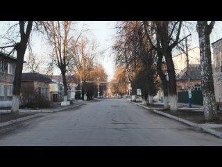 Утро в центре Ряжска