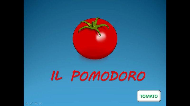 Vocaboli italiani la verdura Italienisch