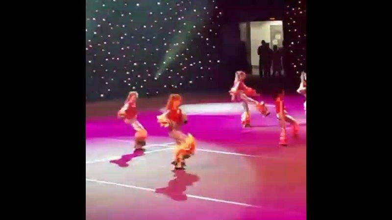 Выступление ксении на Сибур арене Спб