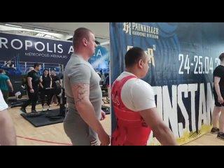 Виктор Череповецкий жим лёжа 135кг