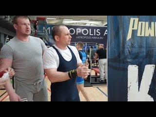 Петров Михаил жим лёжа 145кг